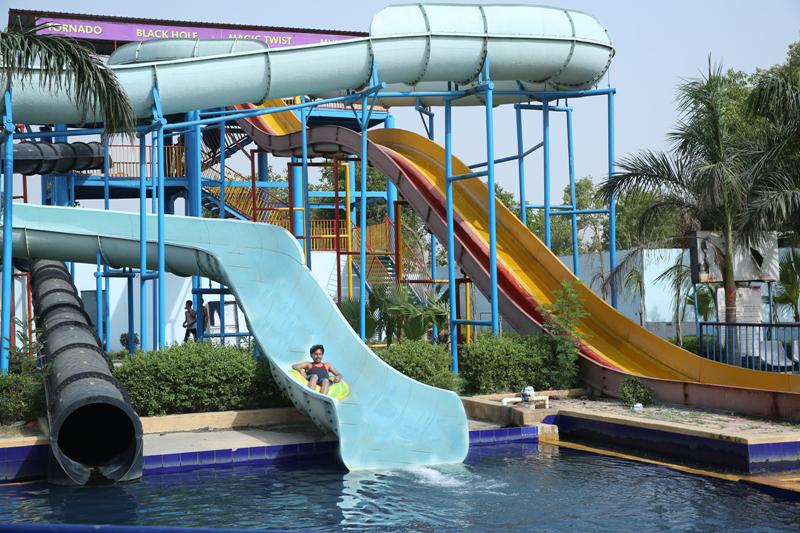 Water Park around Delhi